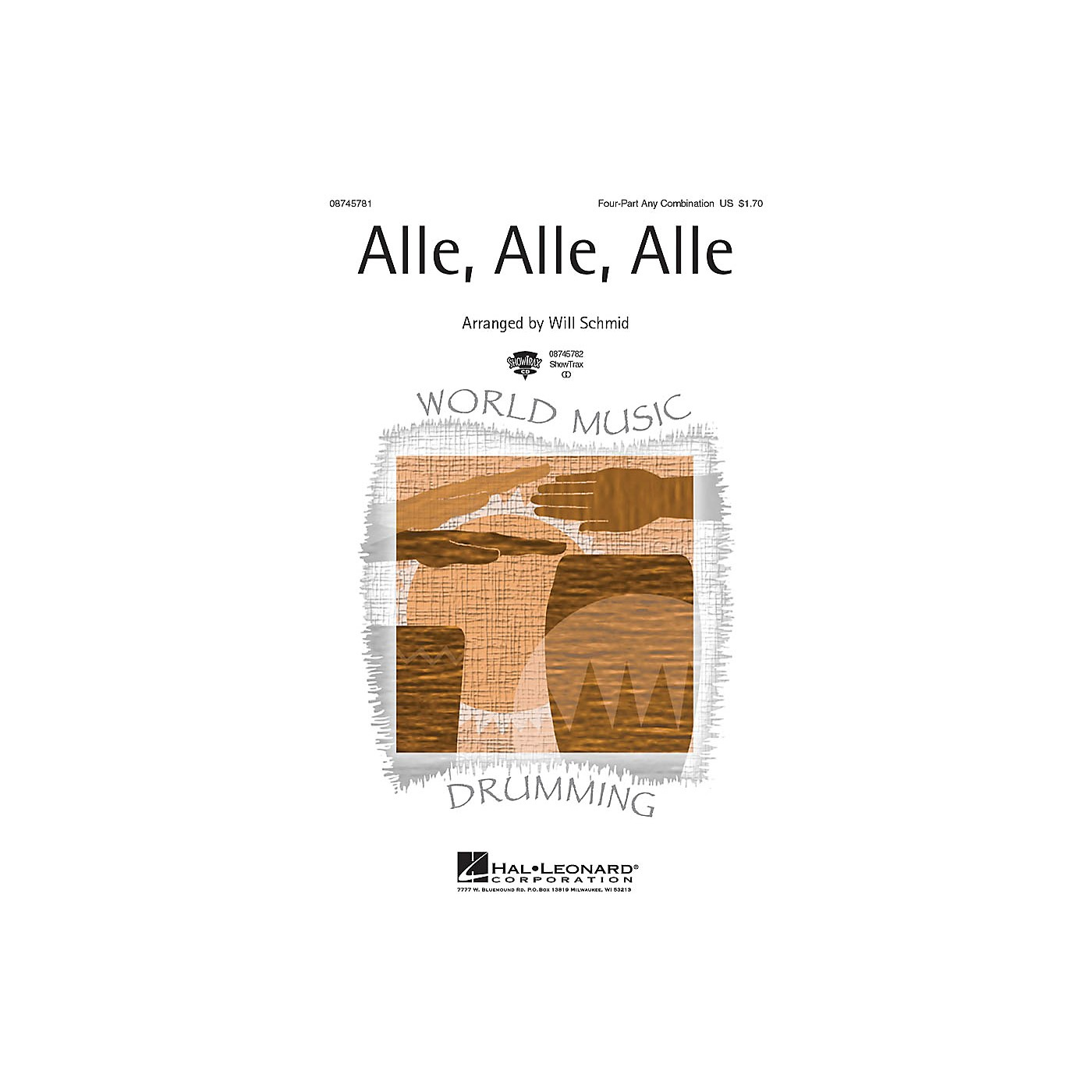 Hal Leonard Alle, Alle, Alle 4 Part Any Combination arranged by Will Schmid thumbnail