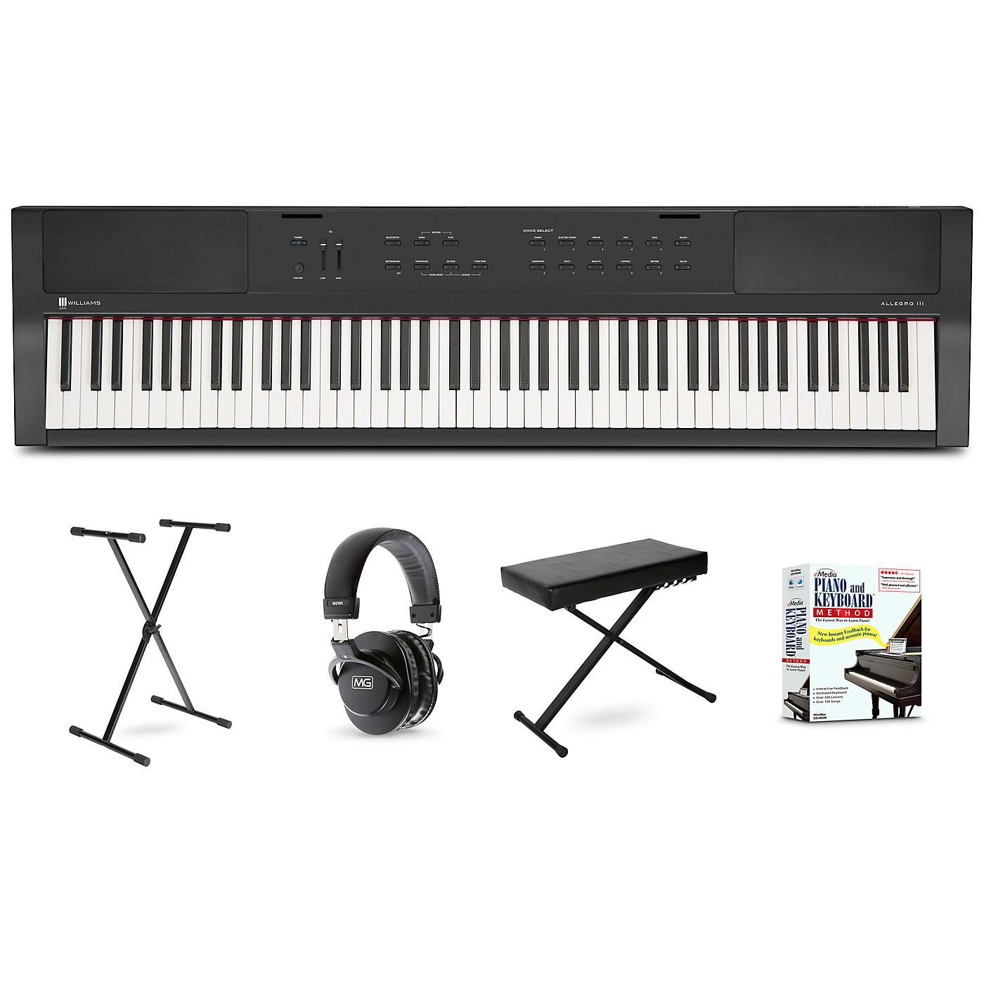 Williams Allegro III Keyboard Beginner Package thumbnail
