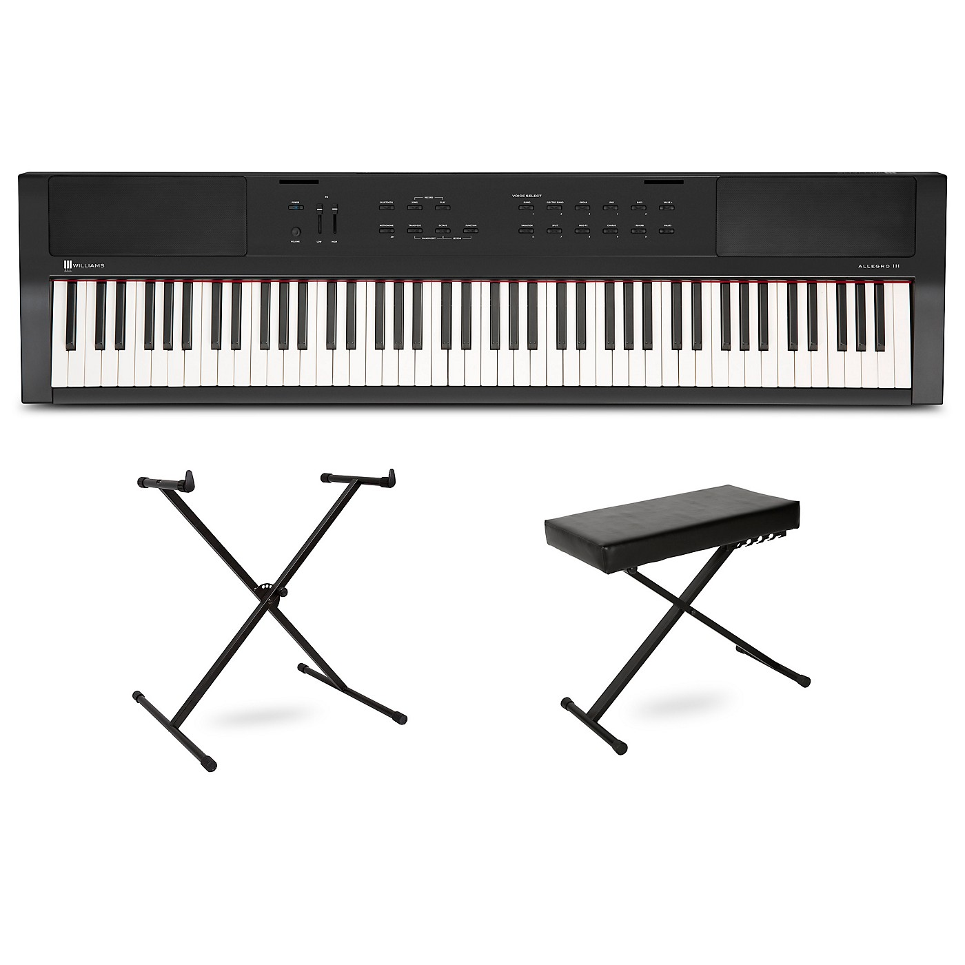 Williams Allegro III Keyboard with Stand and Bench thumbnail