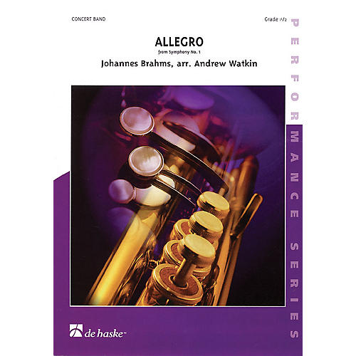 De Haske Music Allegro from Symphony #1 Concert Band thumbnail