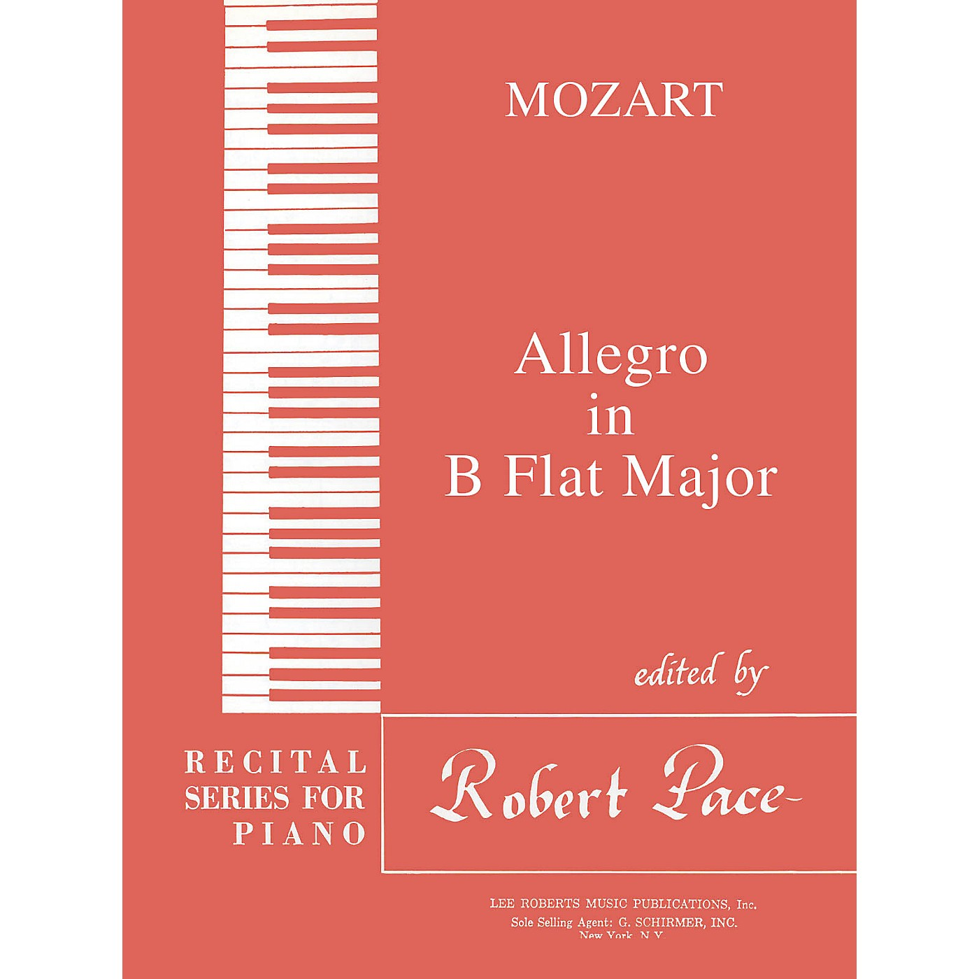 Lee Roberts Allegro in B Flat Major Pace Piano Education Series Composed by Wolfgang Amadeus Mozart thumbnail