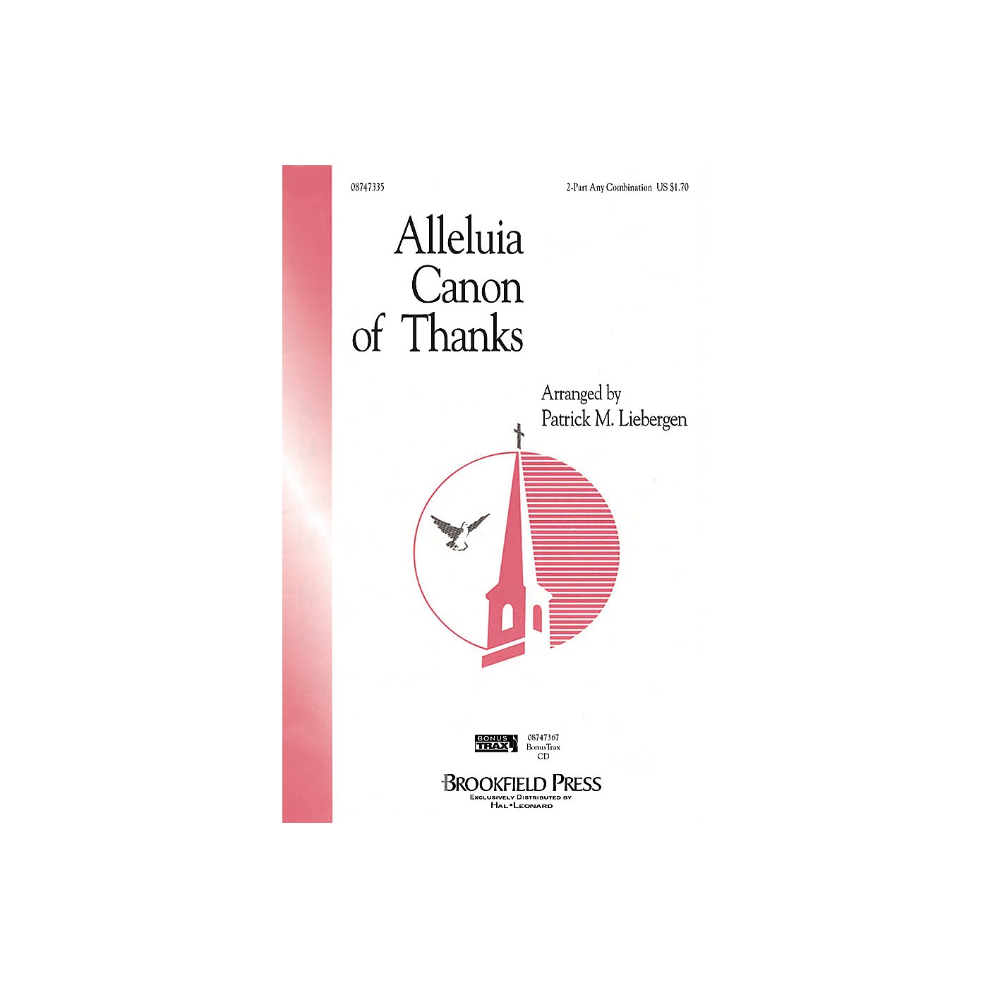 Brookfield Alleluia Canon of Thanks 2-Part any combination composed by Patrick M. Liebergen thumbnail