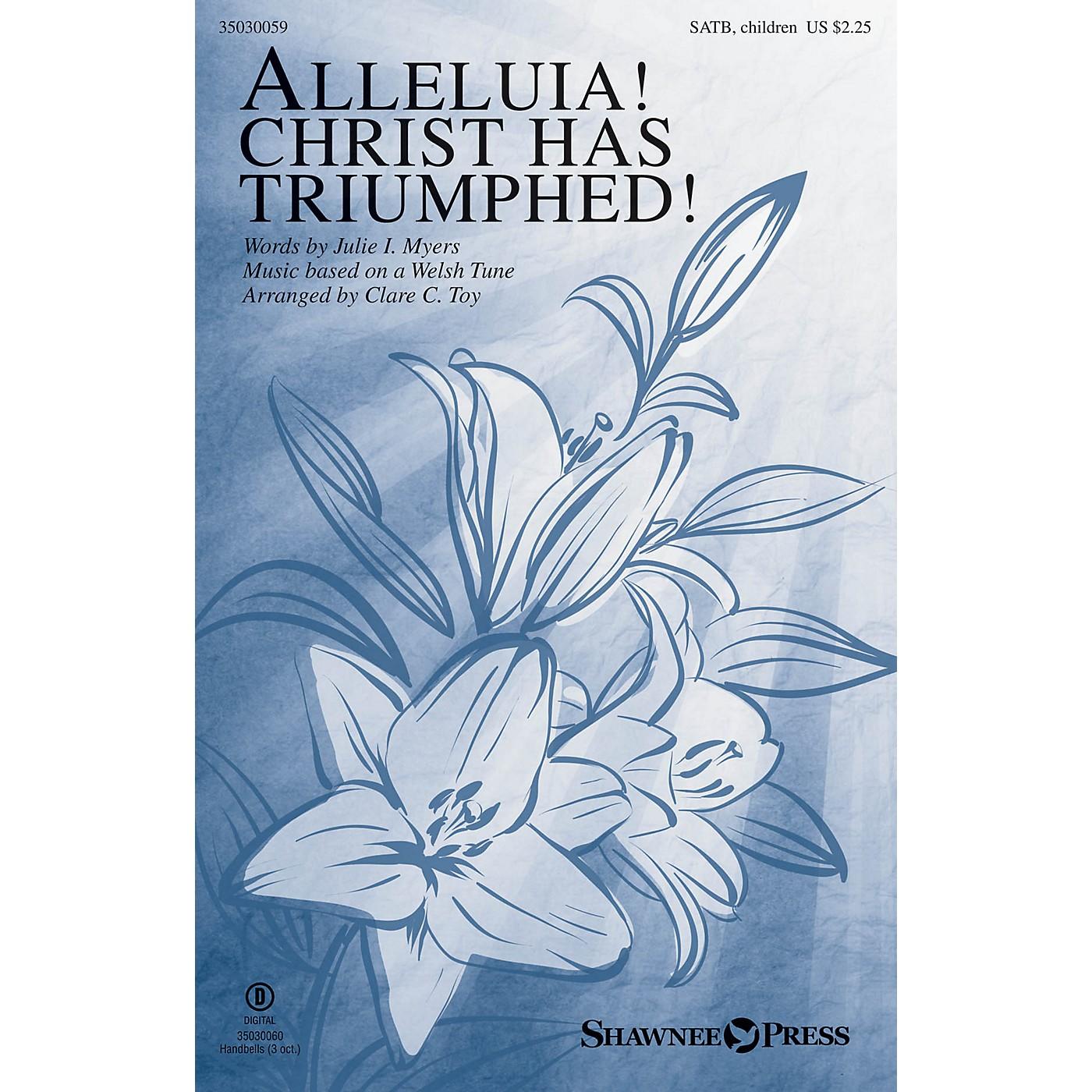 Shawnee Press Alleluia! Christ Has Triumphed! SATB/CHILDREN'S CHOIR arranged by Clare C. Toy thumbnail