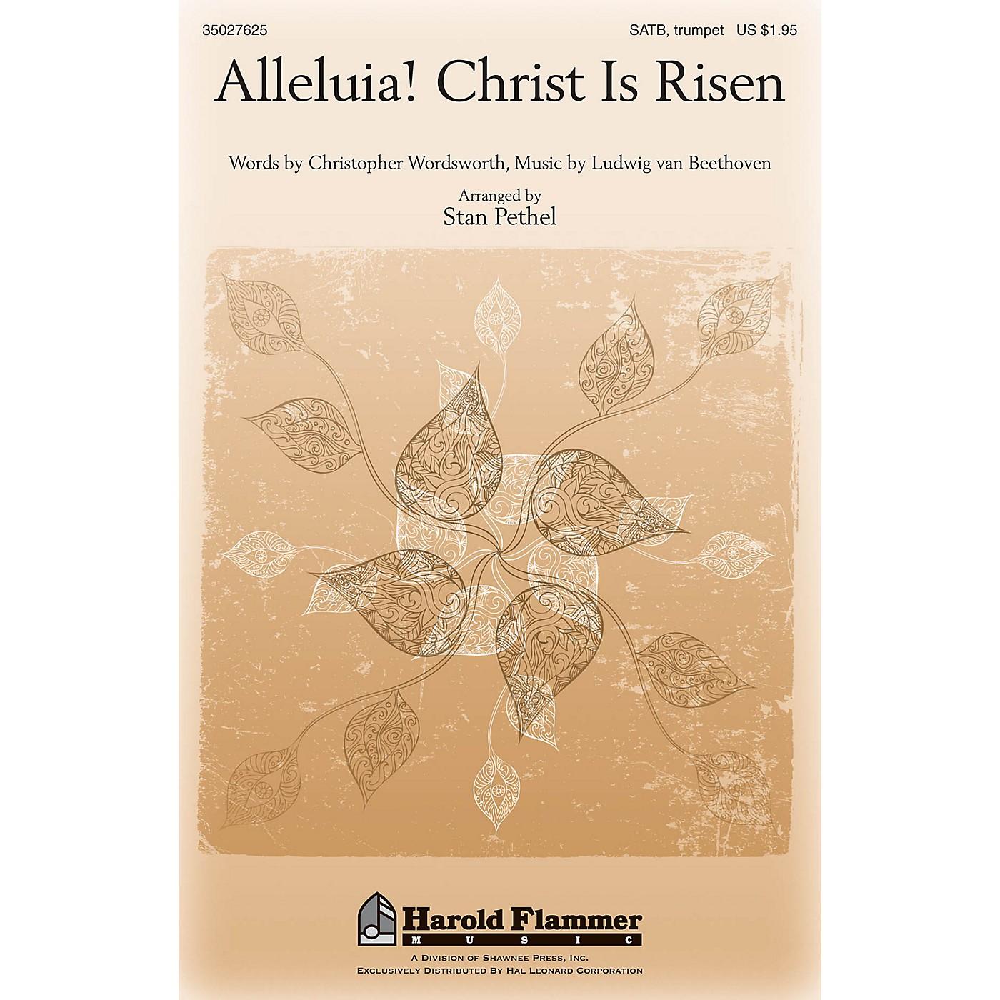 Shawnee Press Alleluia! Christ Is Risen SATB, TRUMPET arranged by Stan Pethel thumbnail