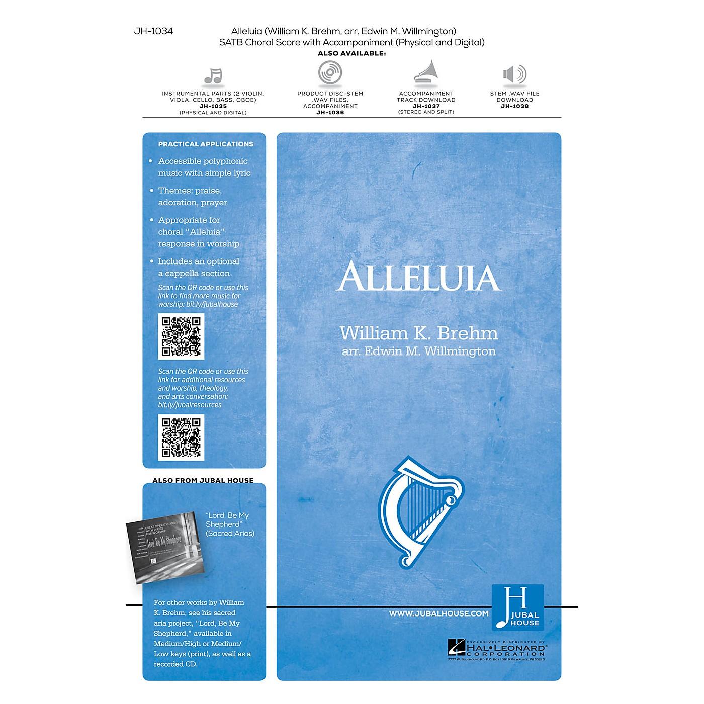 Jubal House Publications Alleluia Instrumental Parts Arranged by Edwin M. Willmington thumbnail