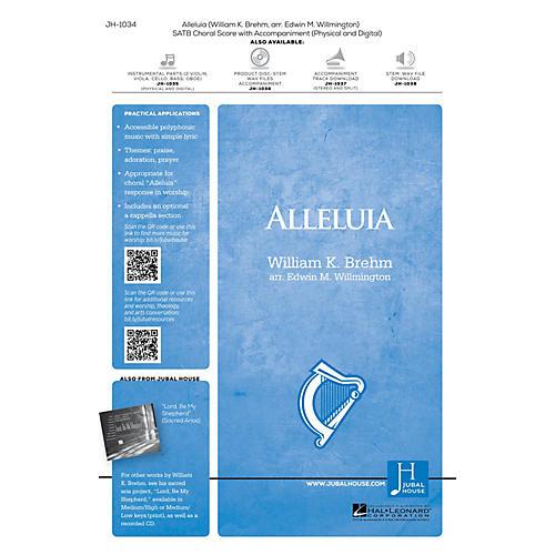 Jubal House Publications Alleluia SATB arranged by Edwin M. Willmington thumbnail