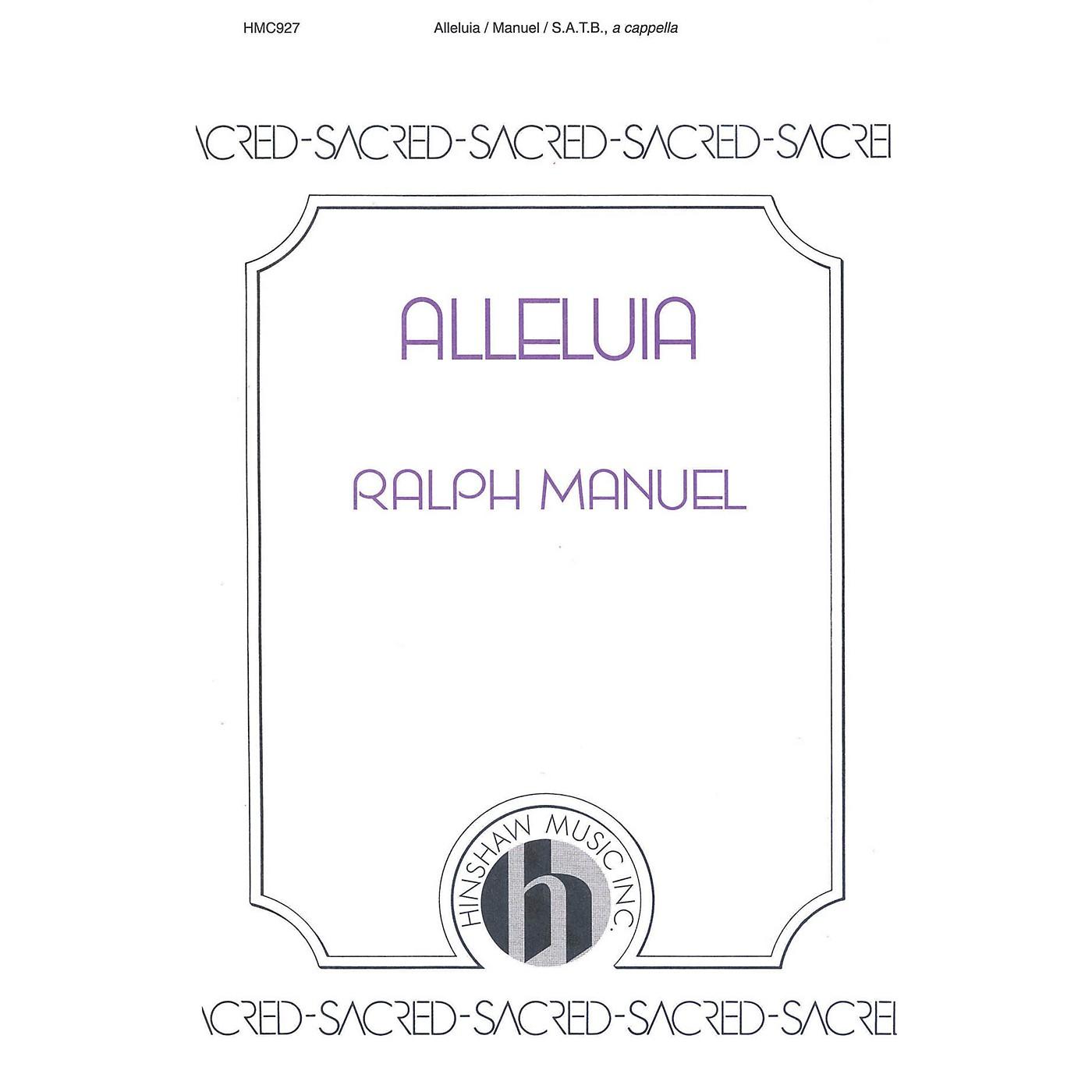 Hinshaw Music Alleluia SATB arranged by Ralph Manuel thumbnail