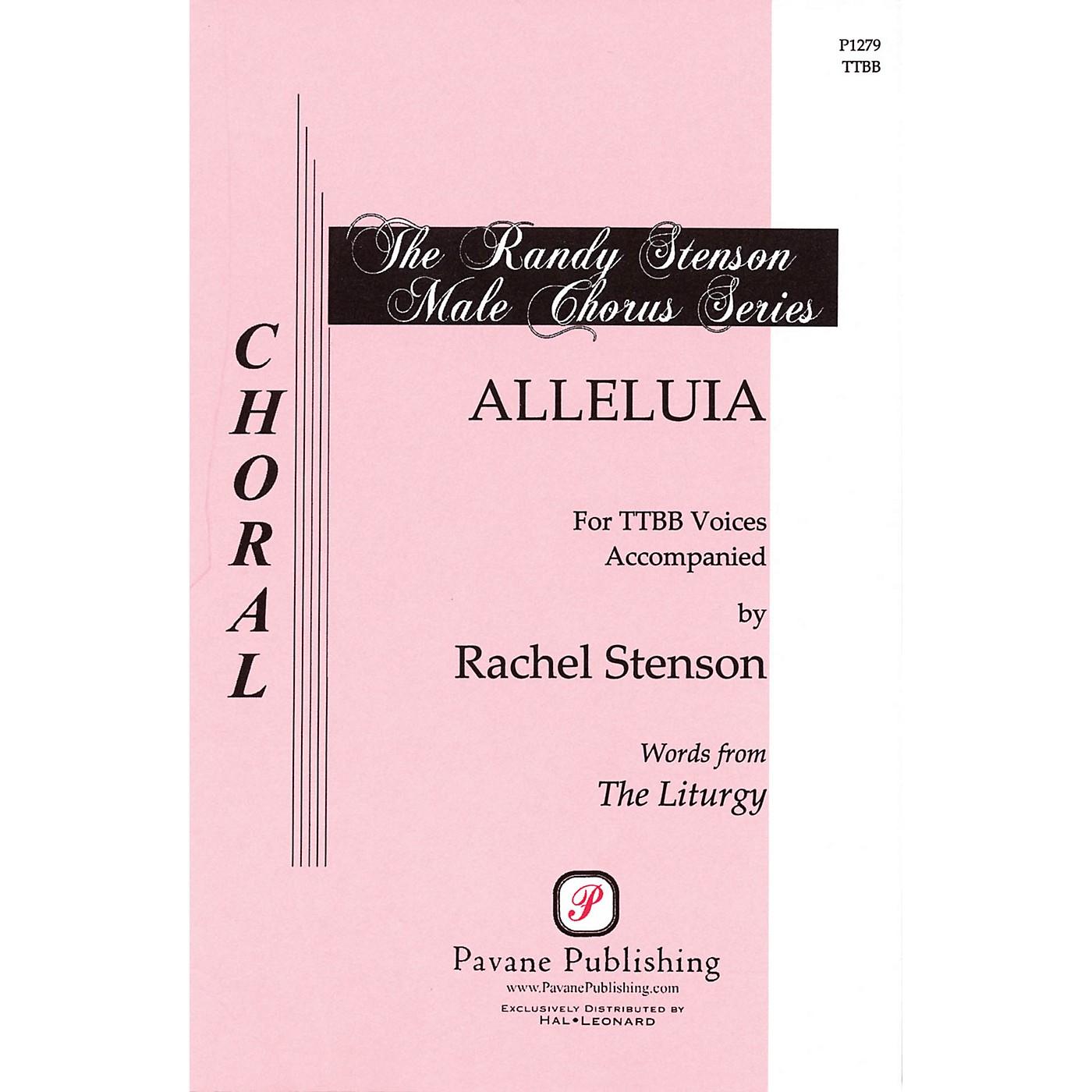 Pavane Alleluia TTBB composed by Rachel Stenson thumbnail