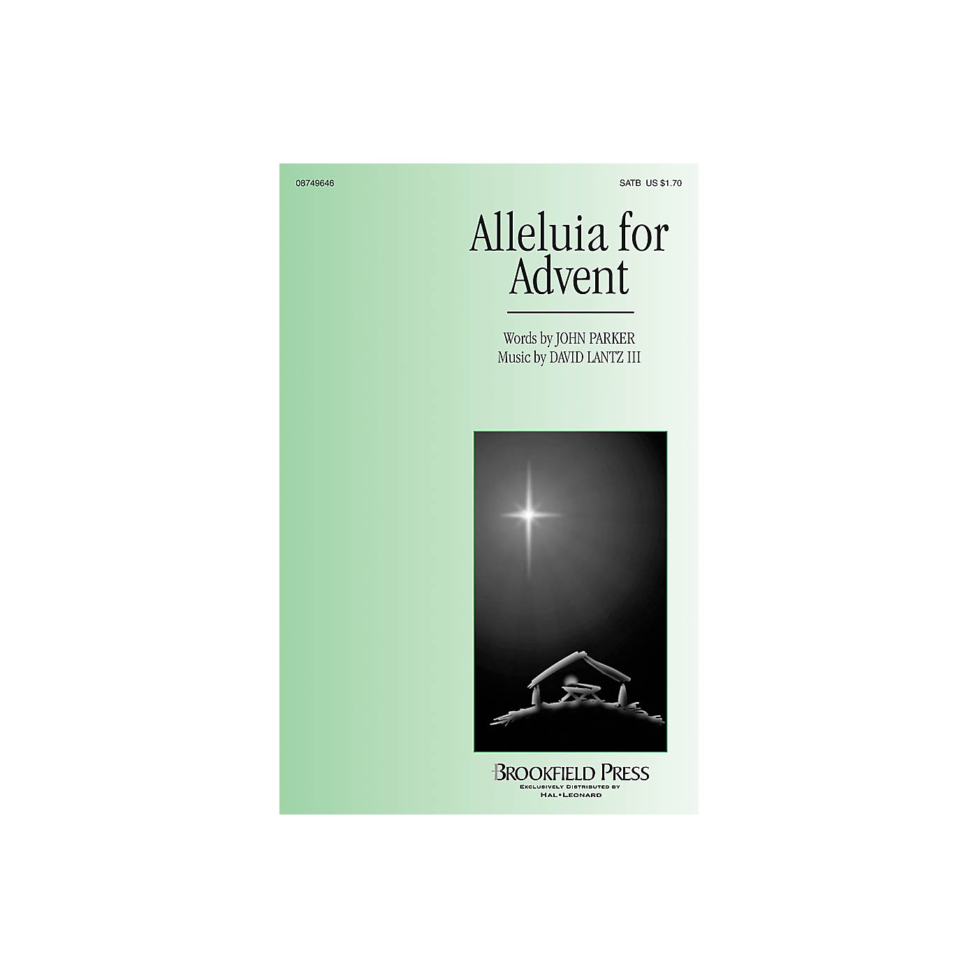 Brookfield Alleluia for Advent SATB composed by John Parker/David Lantz III thumbnail