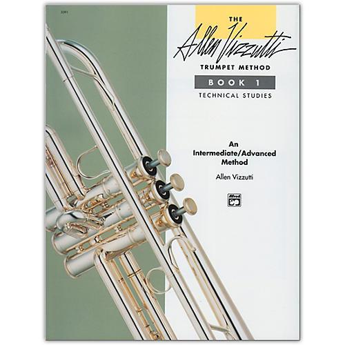 Alfred Allen Vizzutti Trumpet Method Book 1 Technical Studies thumbnail