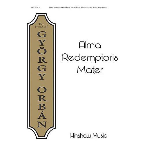Hinshaw Music Alma Redemptoris Mater SATB composed by Gyorgy Orban thumbnail