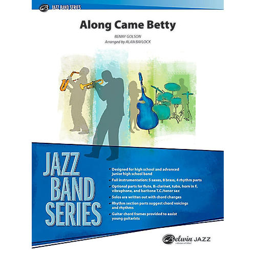 BELWIN Along Came Betty Jazz Ensemble Grade 3 (Medium) thumbnail