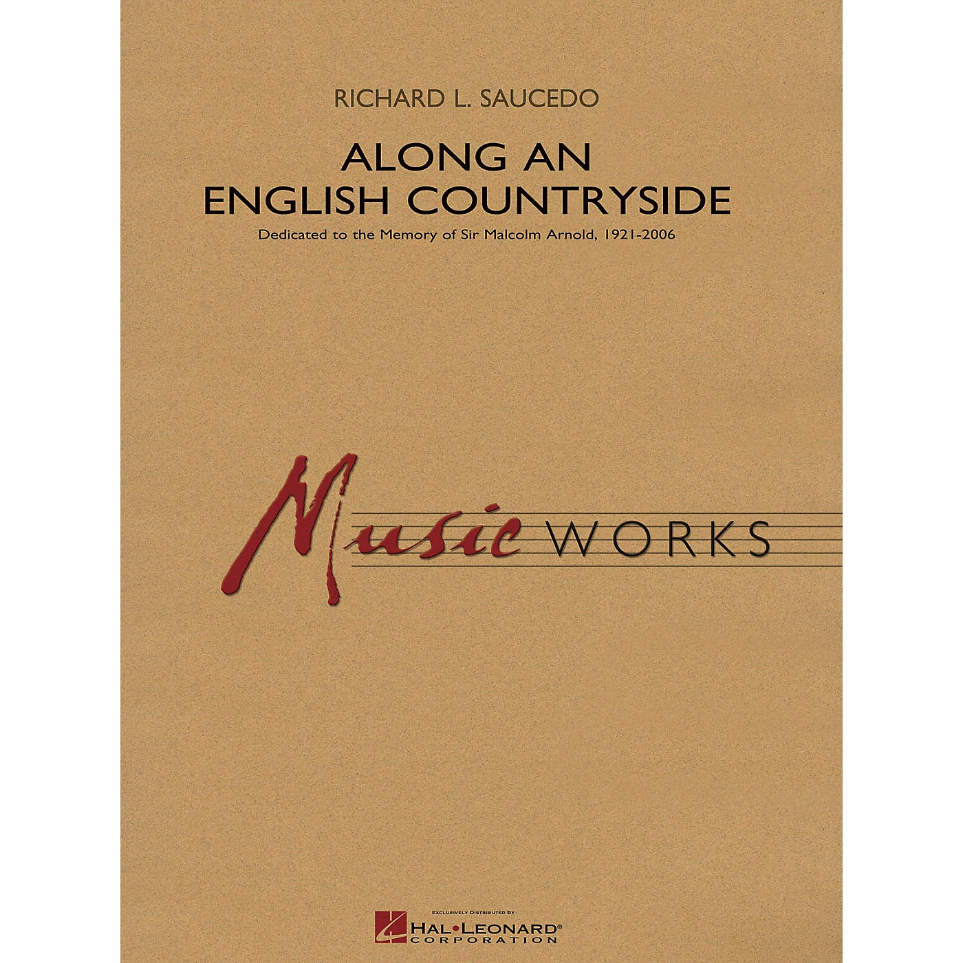 Hal Leonard Along an English Countryside Concert Band Level 5 Composed by Richard L. Saucedo thumbnail