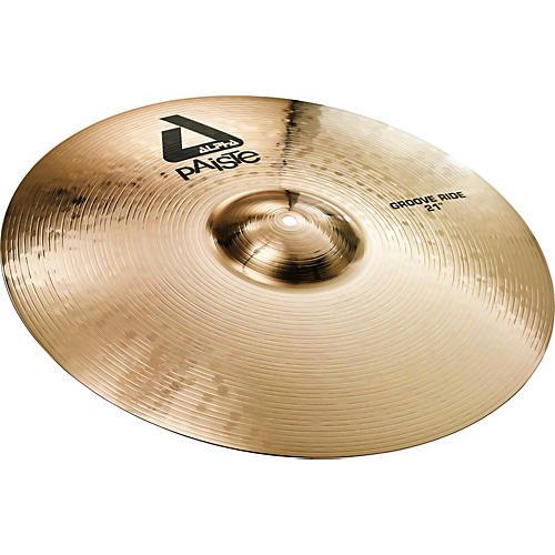 Paiste Alpha Brilliant Groove Ride Cymbal thumbnail