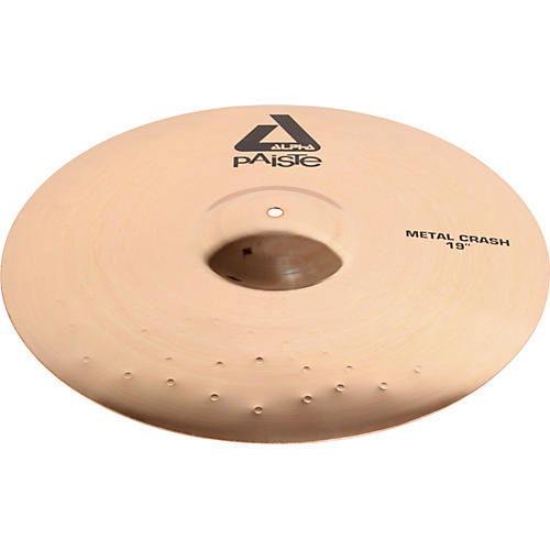 Paiste Alpha Metal Crash Cymbal with Brilliant Finish thumbnail