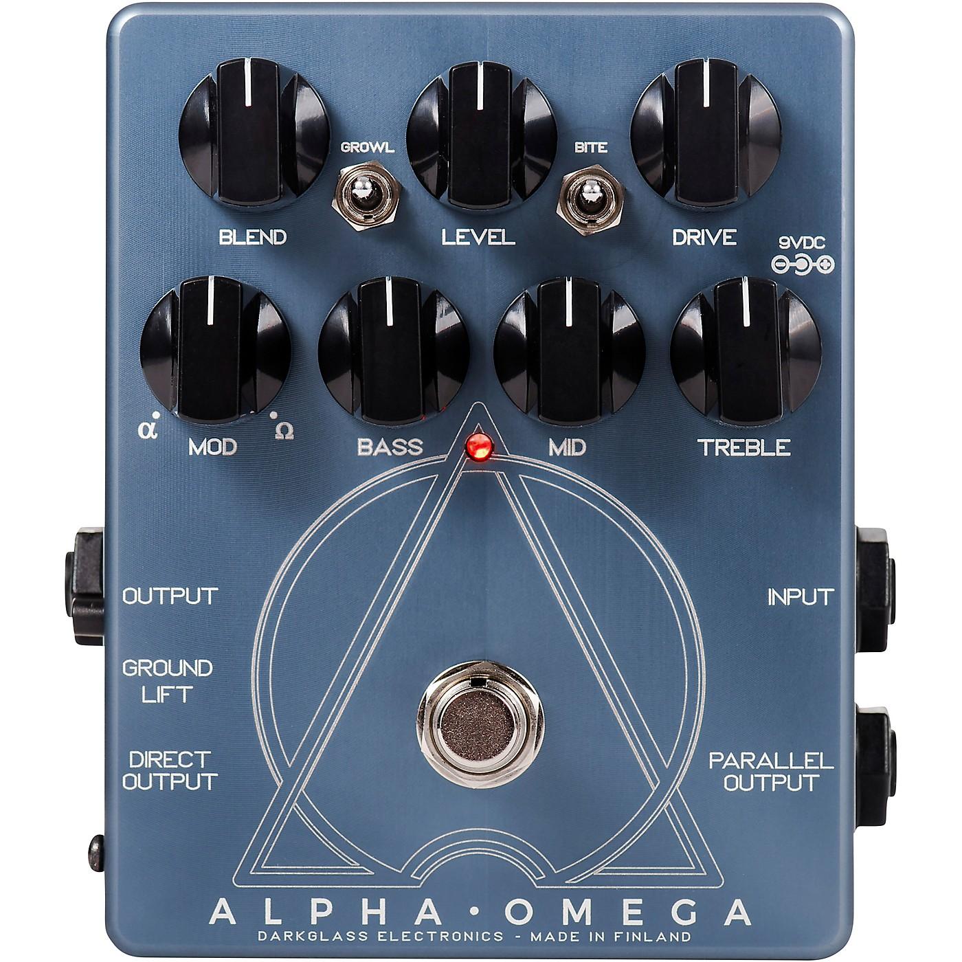 Darkglass Alpha Omega Preamp Pedal thumbnail