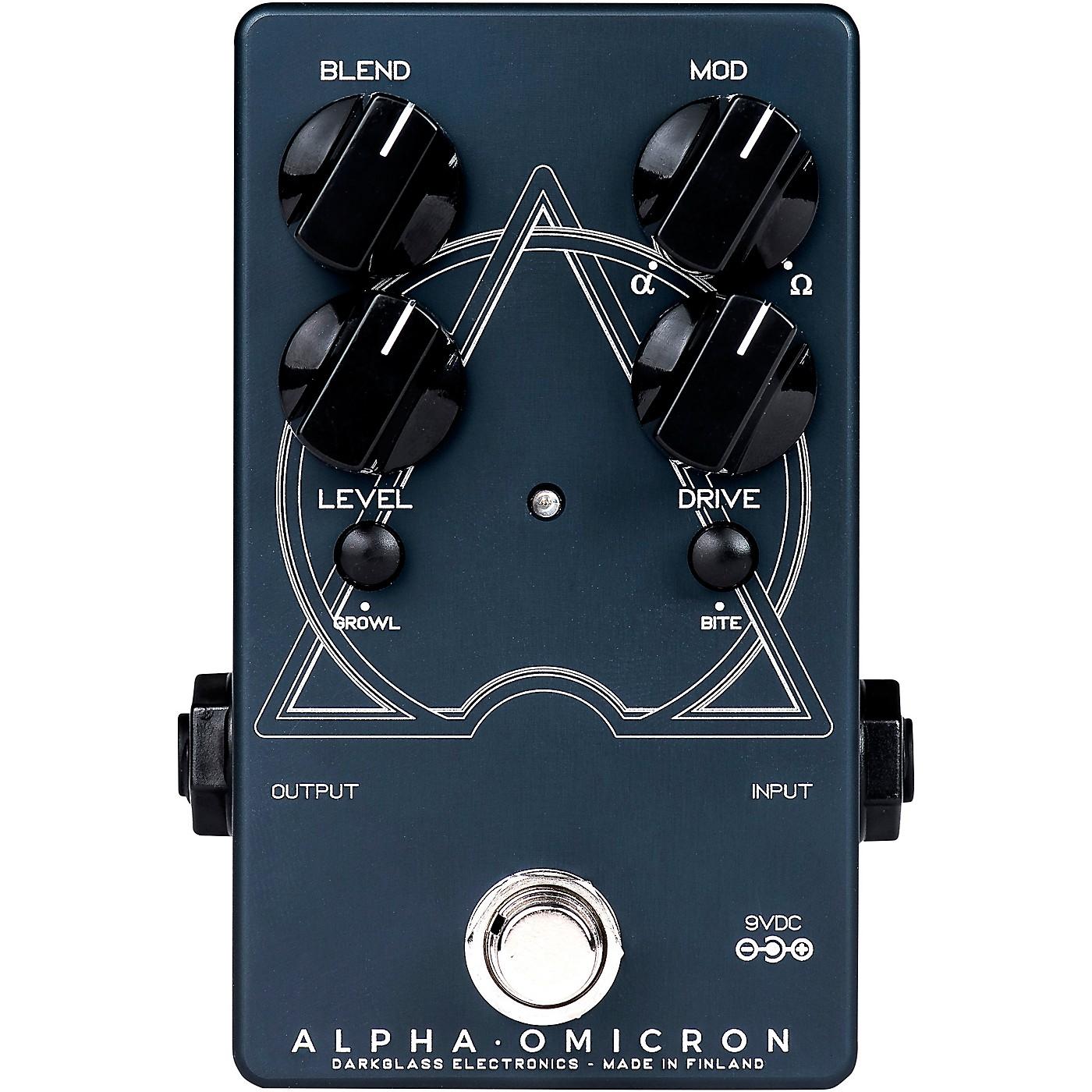 Darkglass Alpha Omicron Bass Distortion Effects Pedal thumbnail