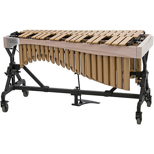 Adams Alpha Series 3.0 Octave Vibraphone, Gold Bars Motor Traveler Frame White Wash Rails thumbnail