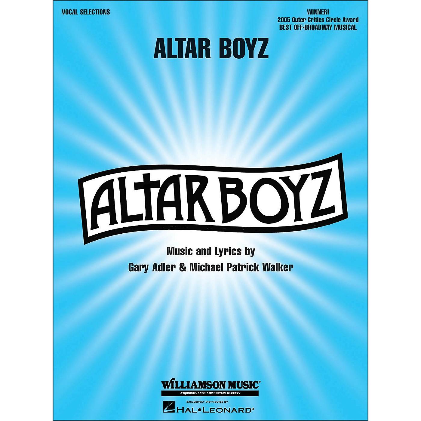 Hal Leonard Altar Boyz arranged for piano, vocal, and guitar (P/V/G) thumbnail