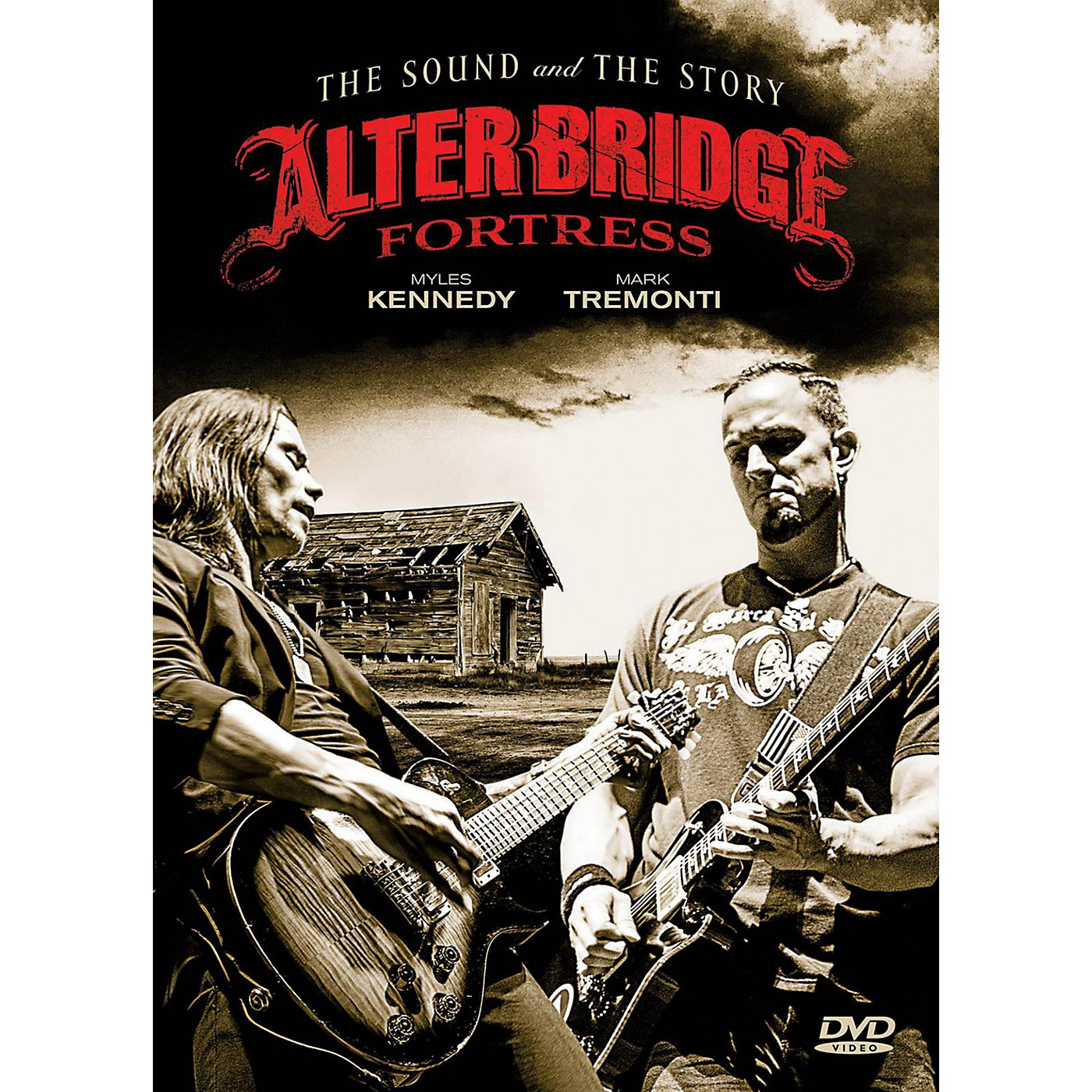 Fret12 Alter Bridge - Fortress: The Sound And The Story - Book/2-DVD Set thumbnail