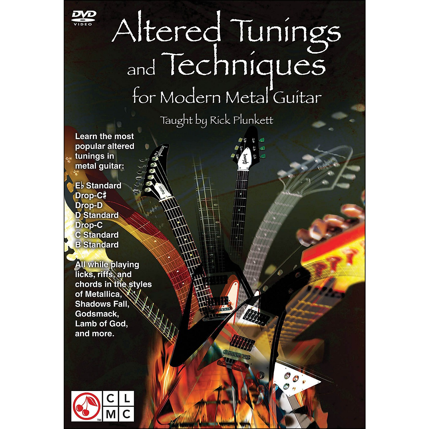Cherry Lane Altered Tunings And Techniques for Modern Metal Guitar (Dvd) thumbnail