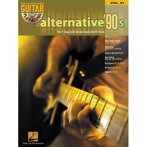 Hal Leonard Alternative '90s Guitar Play-Along Series Book & CD, Volume 51 thumbnail