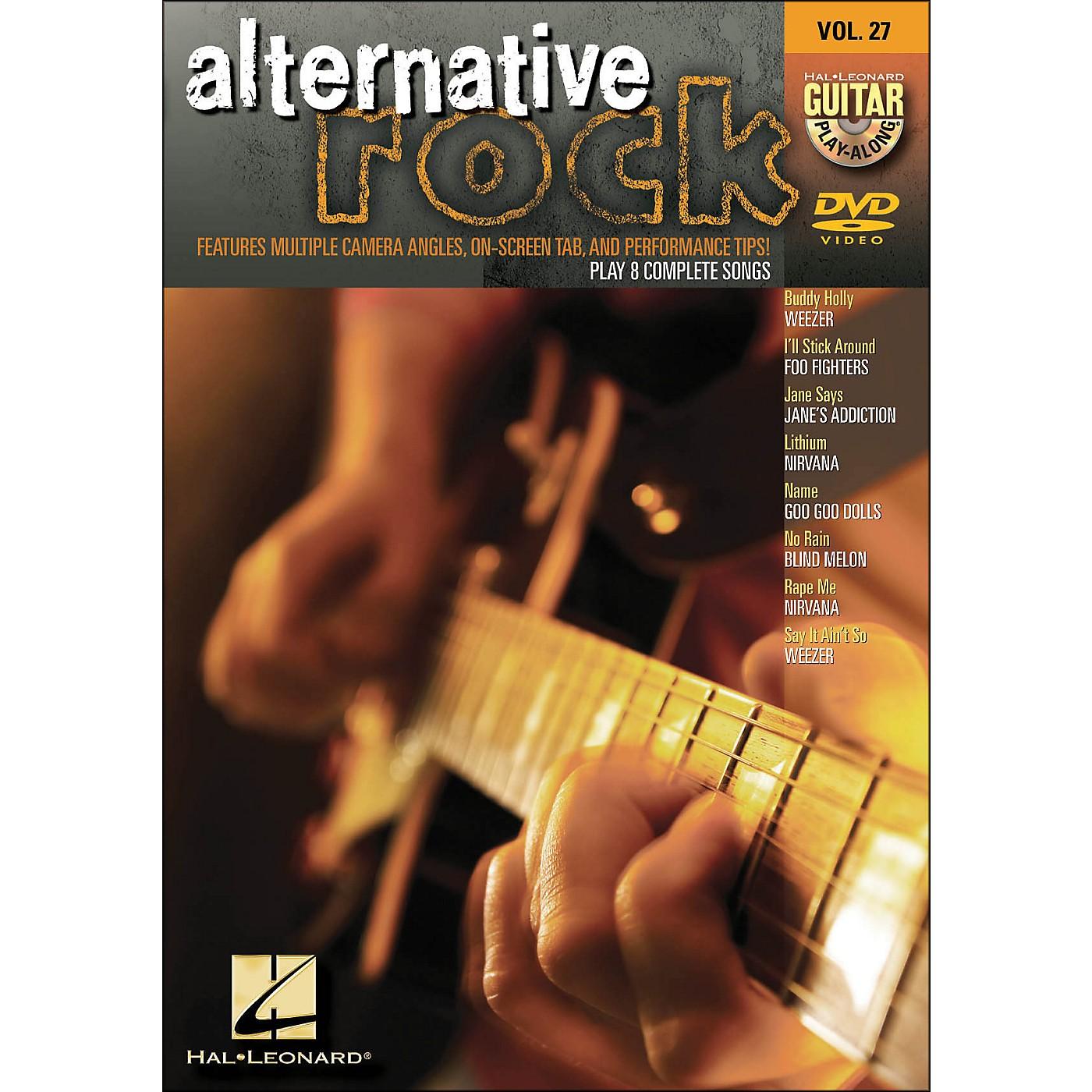 Hal Leonard Alternative Rock - Guitar Play-Along DVD Volume 27 thumbnail