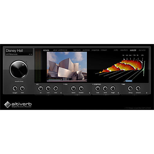 Audio Ease Altiverb 7 XL Software Download thumbnail
