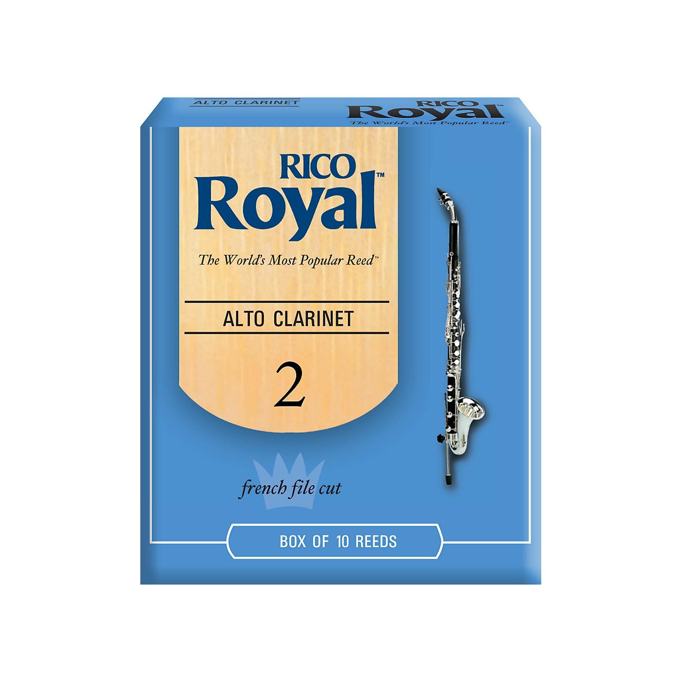 Rico Royal Alto Clarinet Reeds, Box of 10 thumbnail