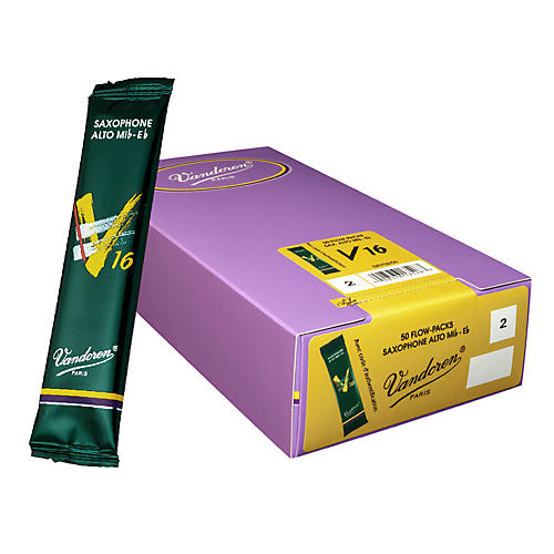 Vandoren Alto Sax V16 Reed Box of 50 thumbnail