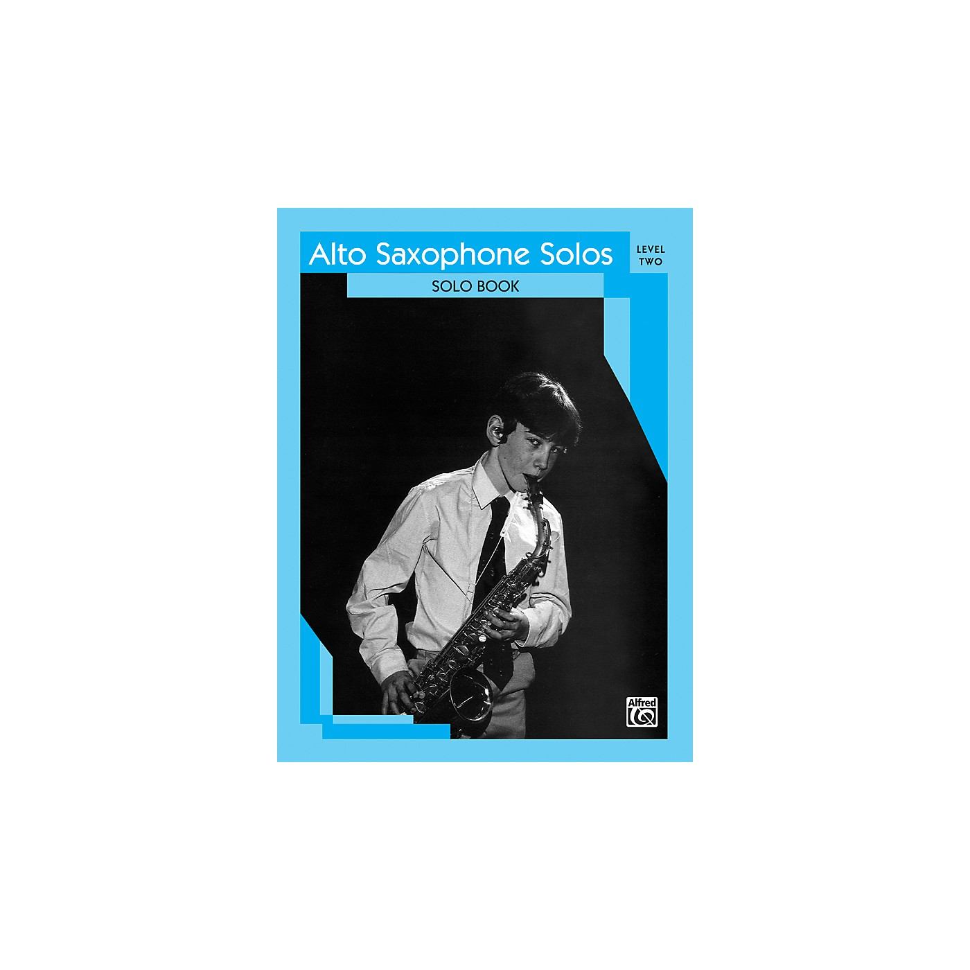 Alfred Alto Saxophone Solos Level II Solo Book thumbnail