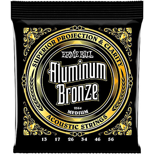 Ernie Ball Aluminum Bronze Medium Acoustic Guitar Strings thumbnail