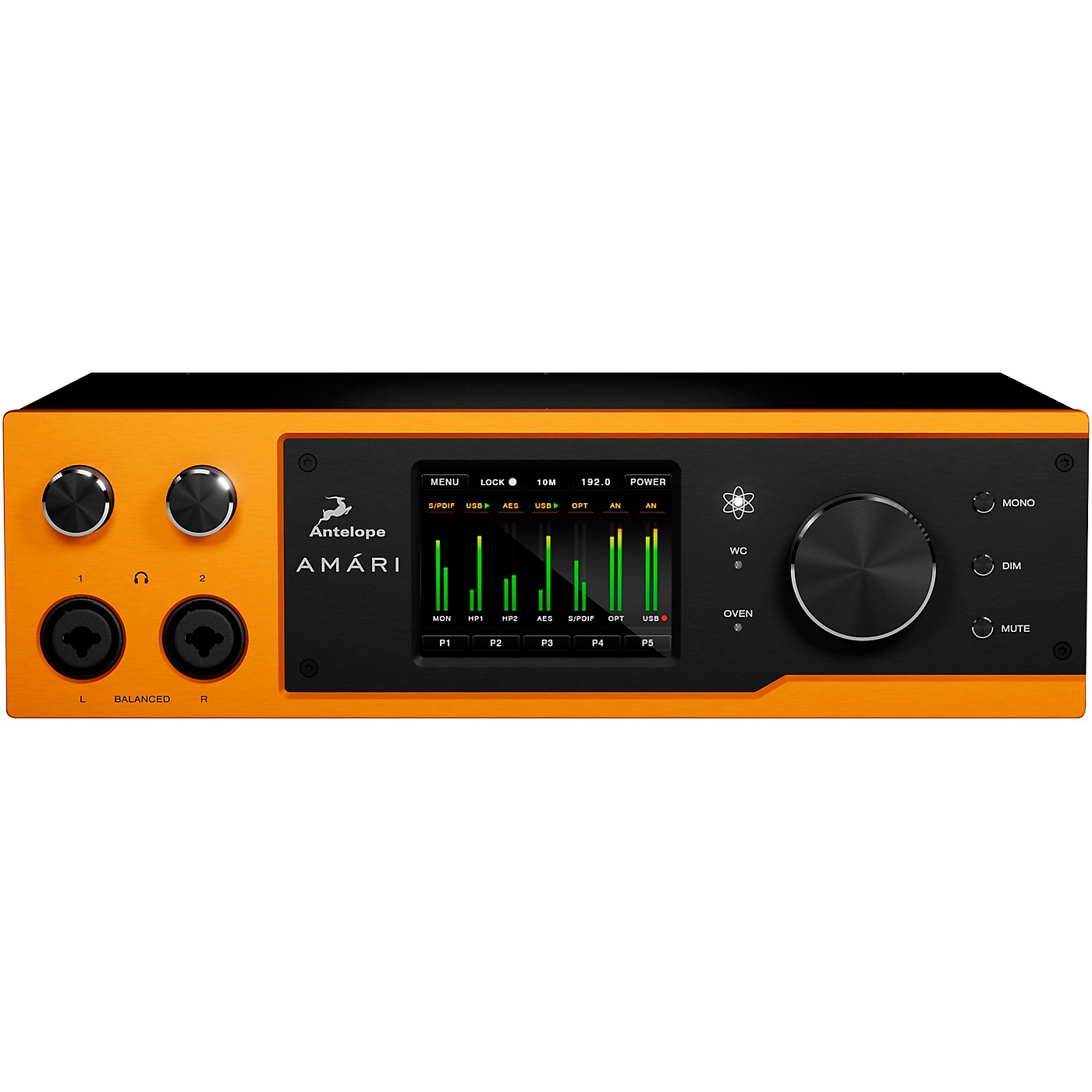 Antelope Audio Amari 2-channel mastering AD/DA Converter & Headphone Amplifier thumbnail