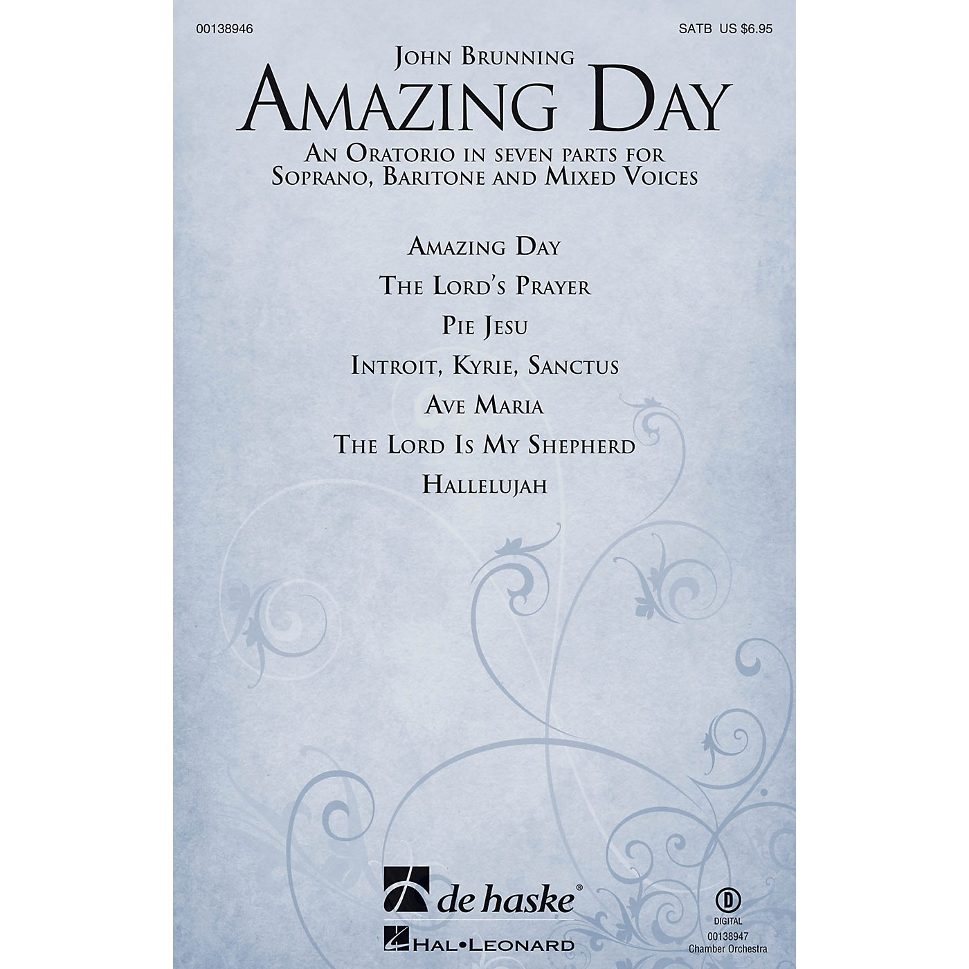 De Haske Music Amazing Day SATB VOCAL SCORE composed by John Brunning thumbnail