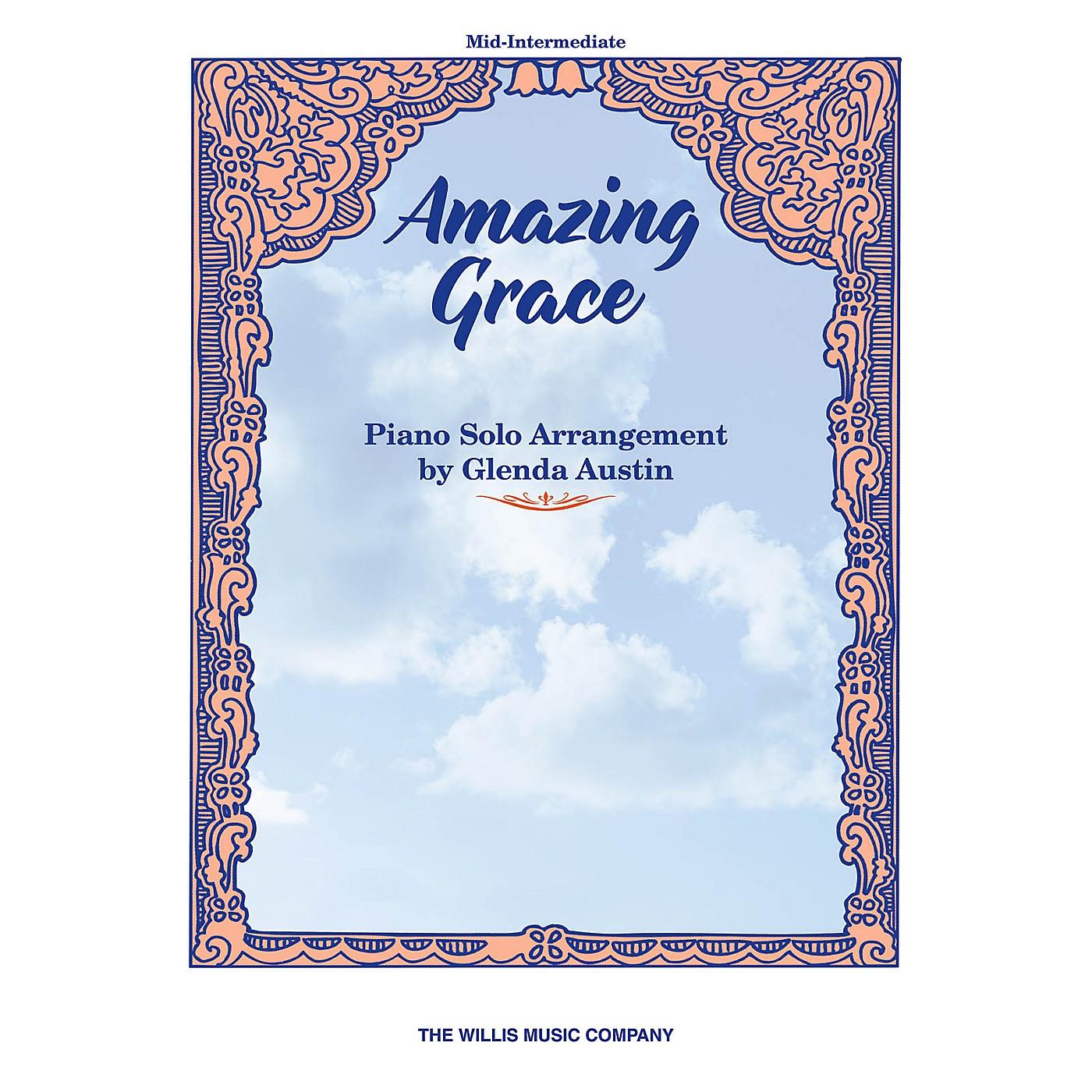 Willis Music Amazing Grace (Mid-Inter Level) Willis Series by John Newton thumbnail