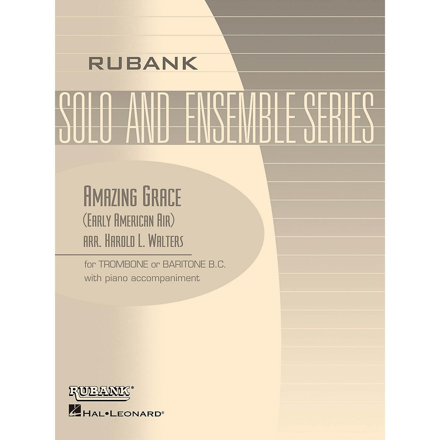 Rubank Publications Amazing Grace Rubank Solo/Ensemble Sheet Series thumbnail