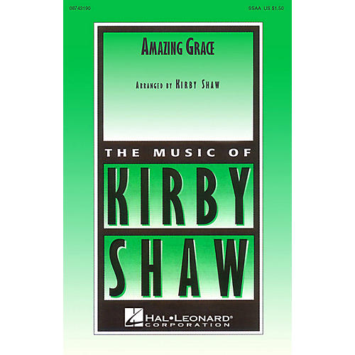 Hal Leonard Amazing Grace (SSAA a cappella) SSAA A Cappella arranged by Kirby Shaw thumbnail
