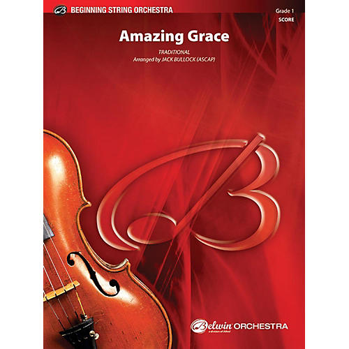 Alfred Amazing Grace String Orchestra Grade 1 thumbnail