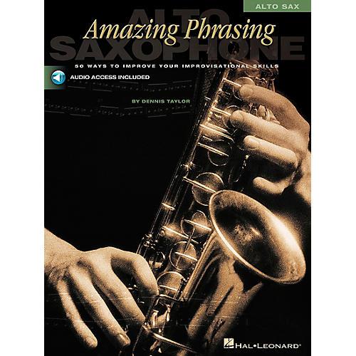 Hal Leonard Amazing Phrasing - Alto Sax (Book/CD) thumbnail
