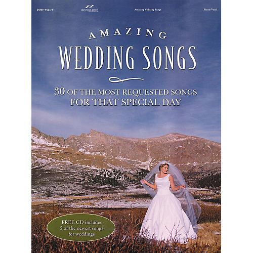 Brentwood-Benson Amazing Wedding Songs (Book/CD)-thumbnail