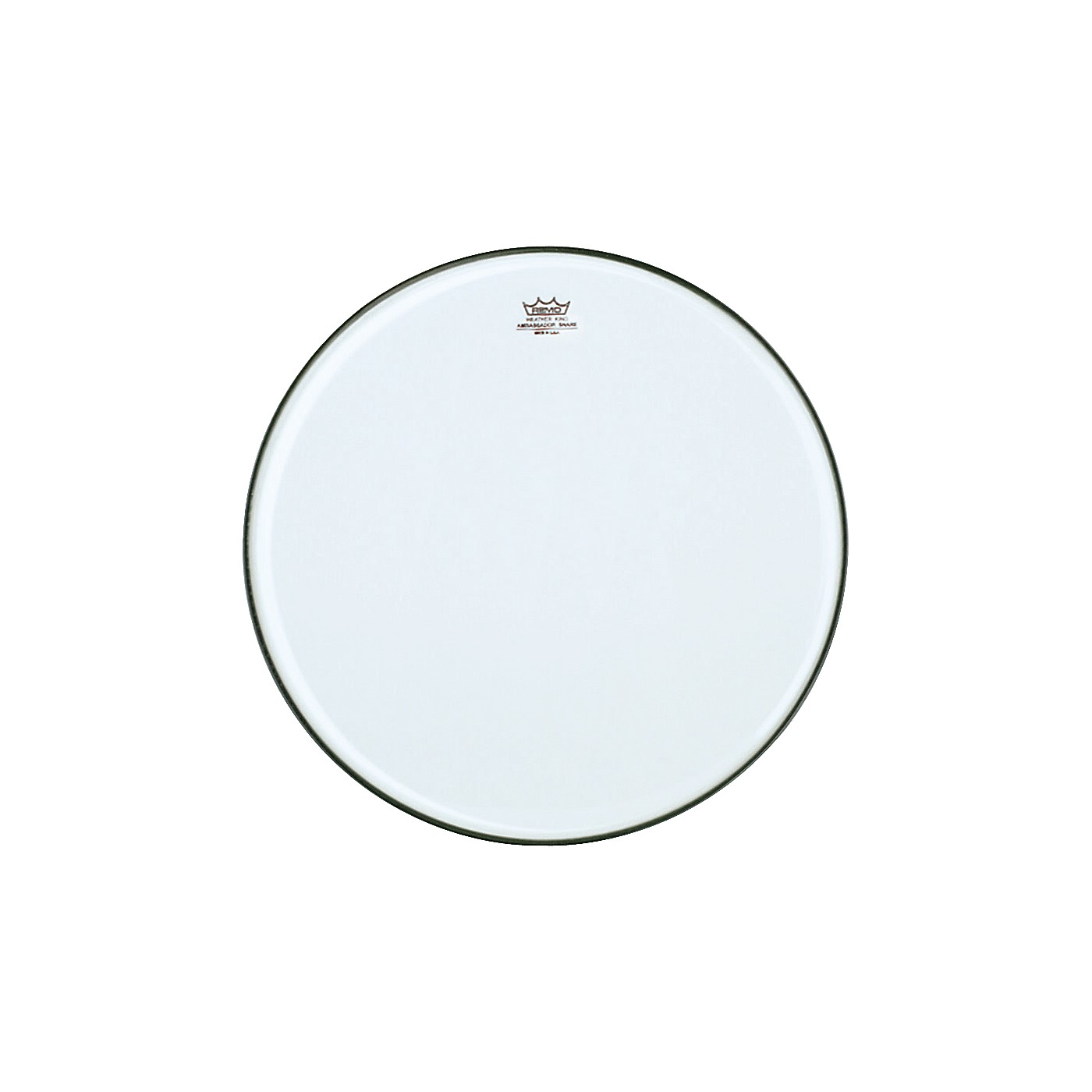 Remo Ambassador Clear Snare Side Marching Head thumbnail