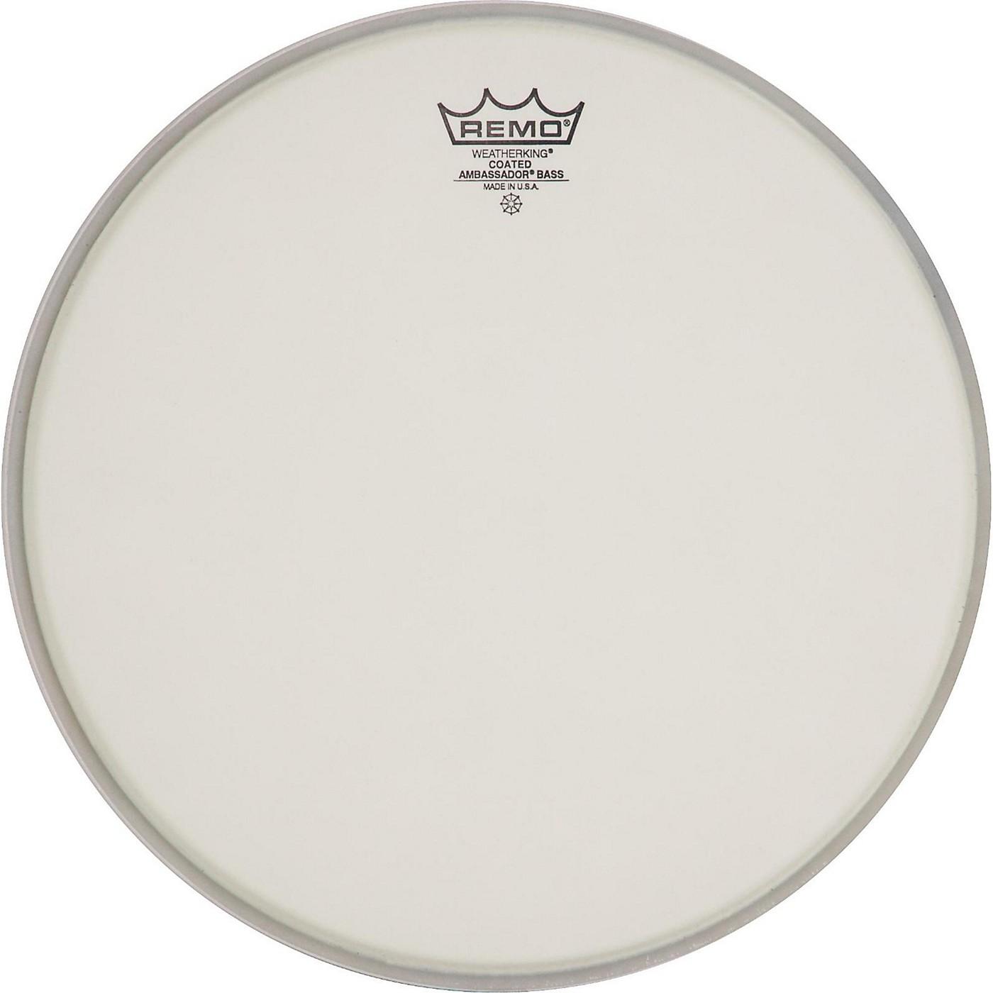 Remo Ambassador Coated Bass Drum Heads thumbnail