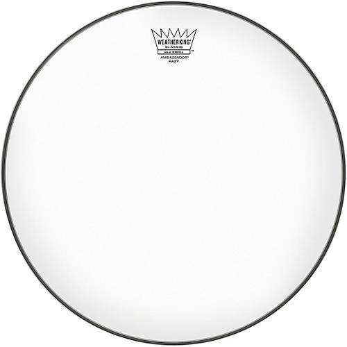 remo ambassador hazy classic fit snare side drum head woodwind brasswind. Black Bedroom Furniture Sets. Home Design Ideas
