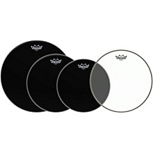 Remo Ambassador Standard Resonant Pro Pack with Free 14 in. Ambassador Hazy Snare-Side Drum Head