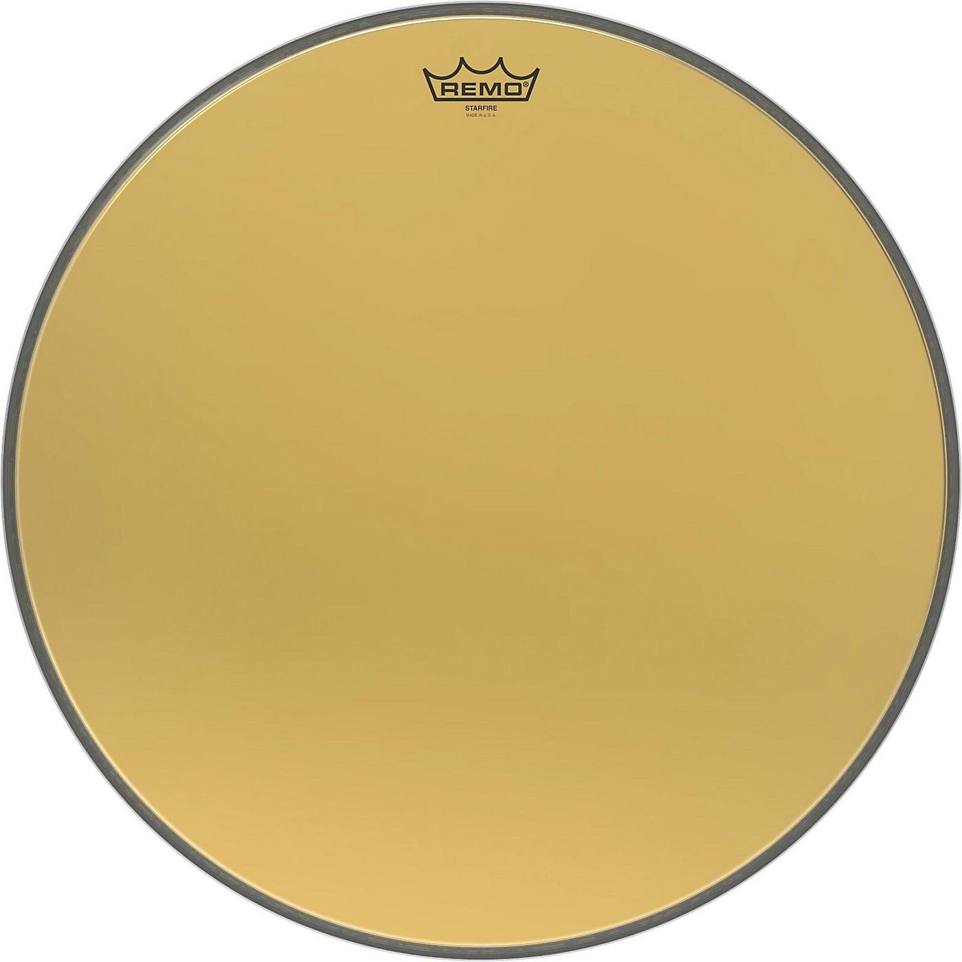 Remo Ambassador Starfire Gold Bass Drumhead thumbnail