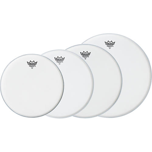 Remo Ambassador X Standard Drumhead Pack, Buy 3 Get a Free 14 Inch Head thumbnail