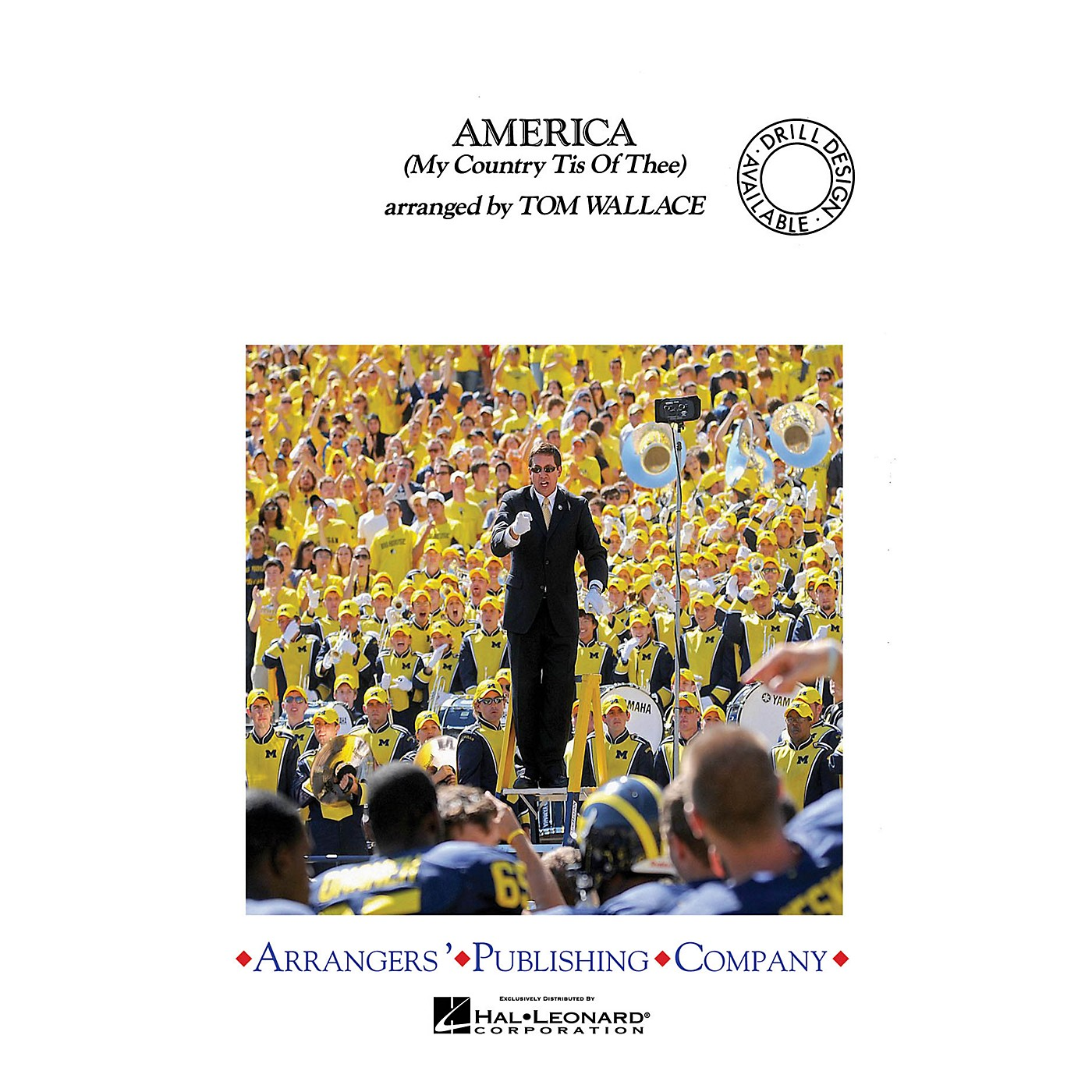 Arrangers America (My Country 'Tis of Thee) Marching Band Level 3 Arranged by Tom Wallace thumbnail