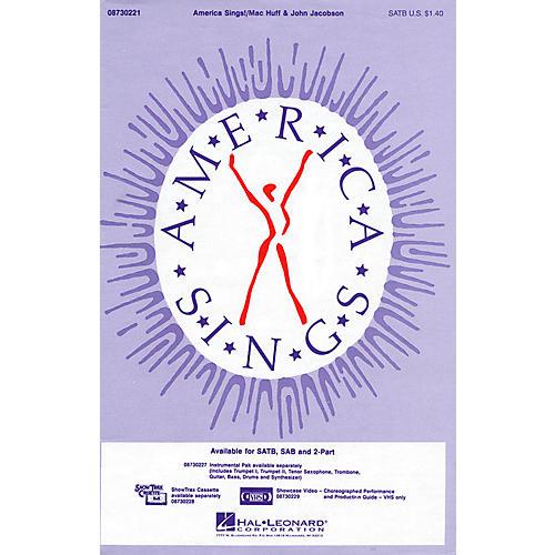 Hal Leonard America Sings! SATB composed by John Jacobson thumbnail