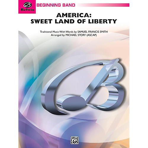 Alfred America: Sweet Land of Liberty Concert Band Grade 1 thumbnail