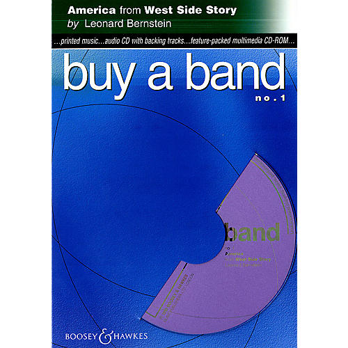 Hal Leonard America (from West Side Story) (Buy a Band No. 1) Instrumental Series CD-ROM thumbnail